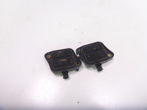 03 04 Suzuki GSXR 1000 Coolant Covers Inlet Outlet