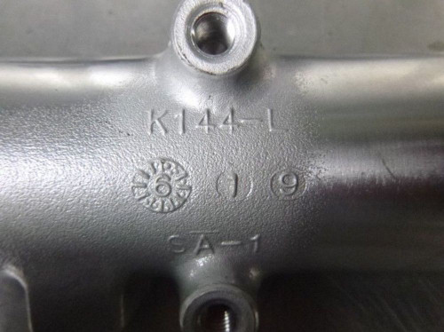 86 Suzuki GV1400T Left Outer Fork Tube Cover Lower