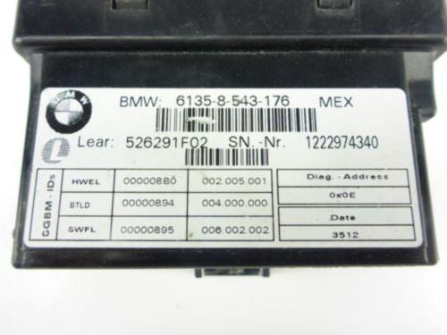 13 BMW K1600 GTL Computer CDI ECU ECM Satellite Basic Module