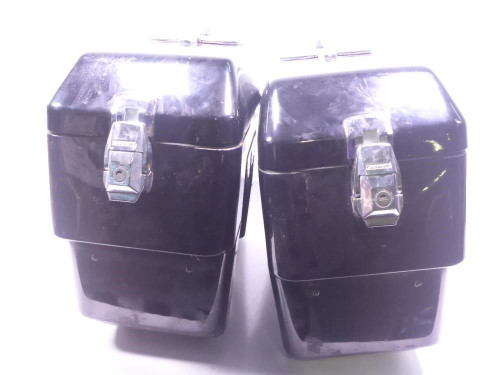 86 Kawasaki Voyager 1300 Saddle Bag Luggage Cases Set Custom Left Right