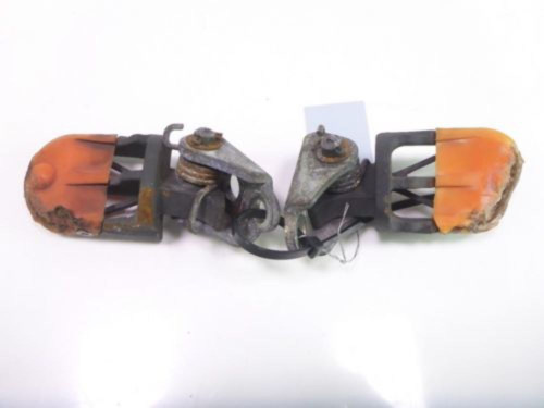 08 Yamaha WR 250 X Front Driver Aftermarket Foot Pegs