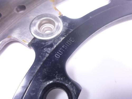 13 Triumph Speed Triple 1050 Front Wheel Disc Brake Rotors SUNSTAR