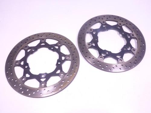 07 Suzuki Bandit GSF1250S Front Wheel Disc Brake Rotors