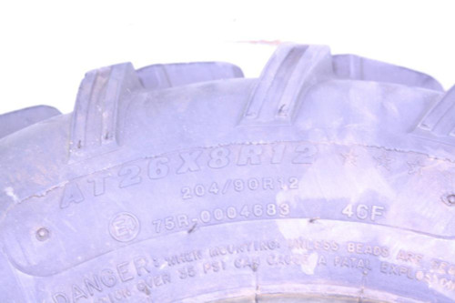 "07 Can Am Outlander 800 XT Carlisle ACT Tire 12"" 26 8 12 26x8-12 (B)"