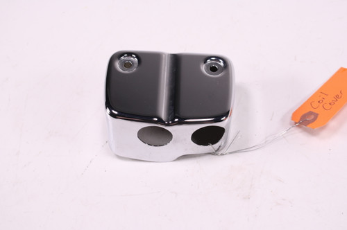 01 Harley Davidson Dyna FXD Ignition Coil Cover Chrome