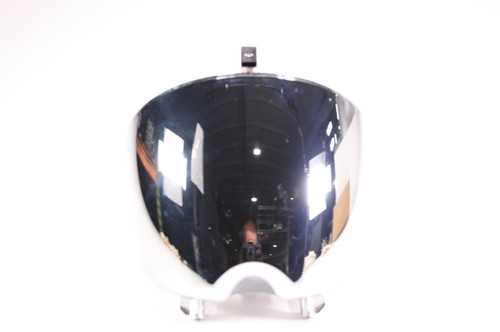 06 Hyosung GV 650 Avitar Headlight Bucket Can Surround Chrome 51821HP9500