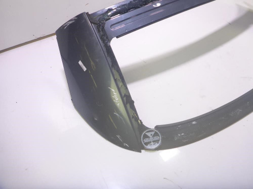 08 VW Volkswagen EOS Rear Exterior Convertible Top Stowaway Panel Trim