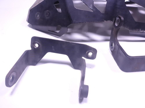 12 Suzuki VStrom DL650 Engine Motor Lower Skid Guard Bracket Kit SW MOTECH