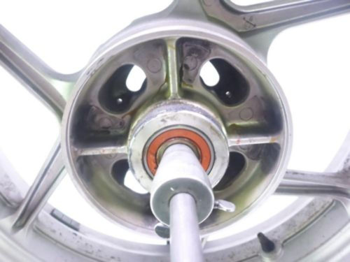 08 Kawasaki KLE 650 Versys Rear Wheel STRAIGHT 17X4.5 ENKEI