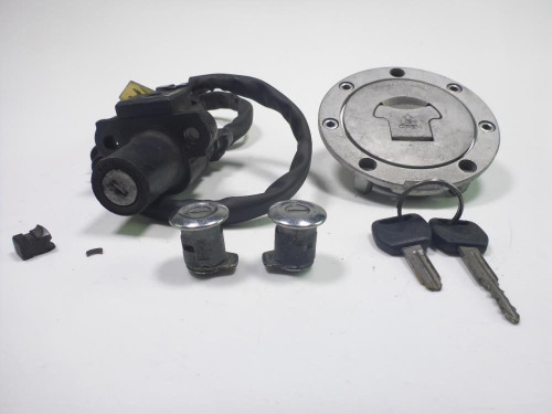 03 Honda ST1300 Lock Set Ignition Switch Cap And Key