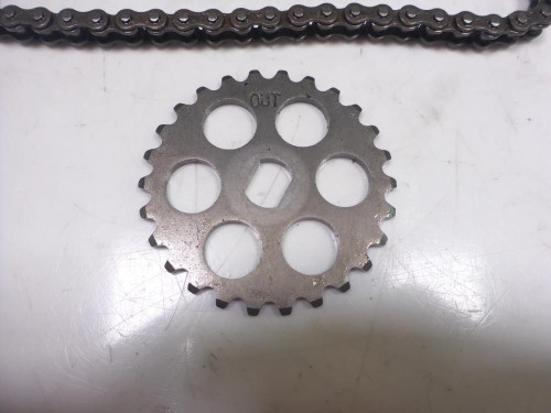 01 Honda CBR 600 F4 Engine Motor Oil Pump Chain Gear