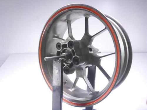 08 Aprilia Shiver Rear Wheel Rim STRAIGHT 17x6.00