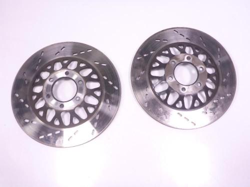 85 Suzuki GS 700 ES Front Wheel Disc Brake Rotors