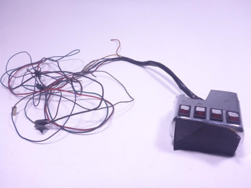 00 Honda Goldwing GL1500 Right Master Switches Buttons Wiring Harness