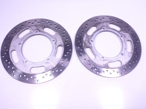 07 Kawasaki Vulcan VN2000F Front Wheel Disc Brake Rotors Set Pair