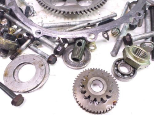 05-08 Kawasaki ZZR600 Engine Motor Hardware Bolt Kit