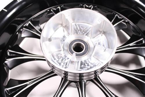 Detroit V.I.P. Harley HD FLH FLHT Wheel Rim Rear Billet Black 18x5.5 65-4651