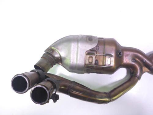 14 Honda Interceptor VFR 800 Exhaust Header Collector Pipes Heat Shield Guard