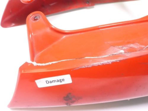 01 Aprilia Mille RSV 1000 Rear Tail Fairing DAMAGED