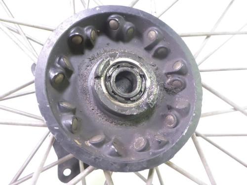 84 Suzuki SP 600 Front Wheel Rim STRAIGHT TAKASAGO 21X1.85