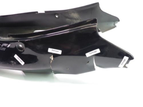 99 Honda Blackbird CBR 1100 XX Rear Tail Fairing DAMAGED