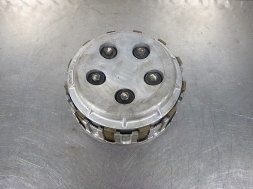 84 Kawasaki LTD 700 ZN Clutch Outer Inner Basket With Pressure Plates
