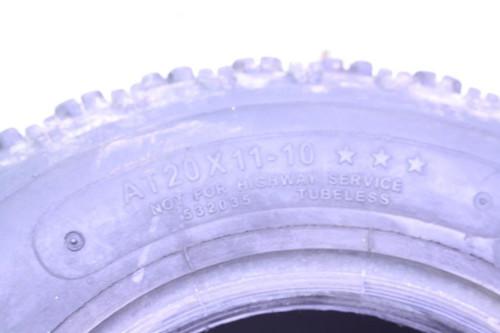 """07 Yamaha YFZ450 ITP Holeshot XCR Tire 10"""" 20 11 10 20x11-10 (C)"""