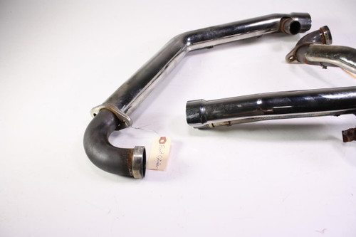 01 Victory V92 Deluxe Full Exhaust Pipe Mufflers Head Headers Chrome