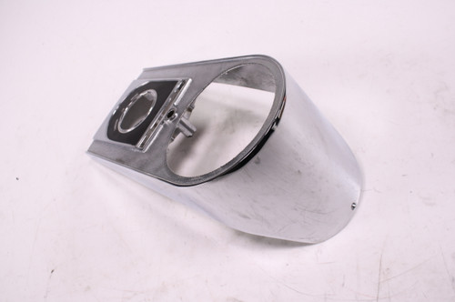 01 Harley Davidson Dyna FXD Gas Fuel Tank Ignition Cover Chrome