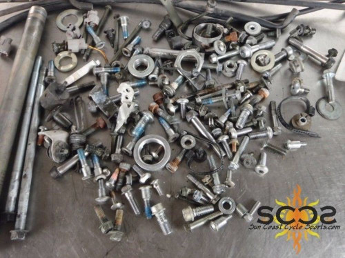 04 05 Suzuki GSXR 600 750 Bolt Hardware Kit
