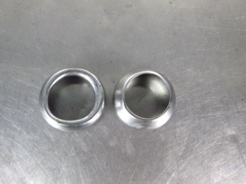 02 Harley FXD Dyna Softail Low Rider Fork Dust Seal Caps
