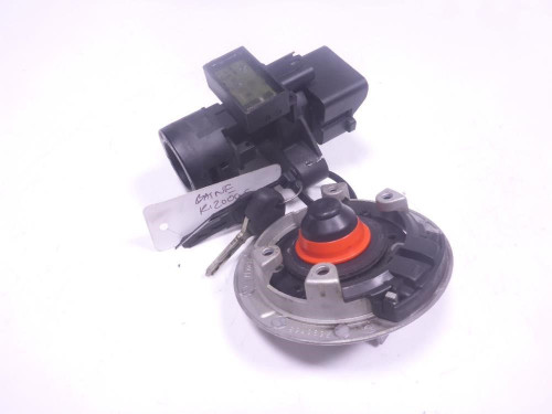08 BMW R1200GS Lock Set Ignition Switch Cap And Key