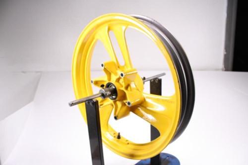 88 Honda NT650 Hawk GT Front Wheel Rim STRAIGHT 17X2.50