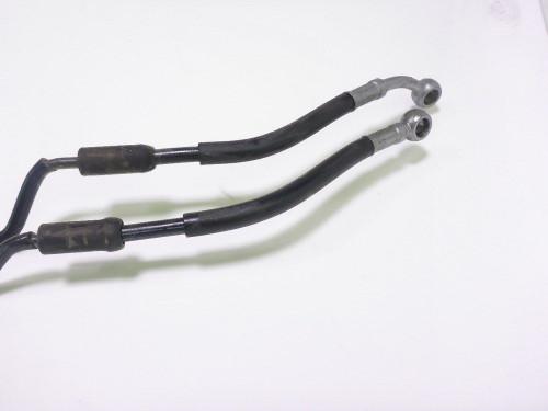 12 KTM 990 Supermoto SM Front ABS Brake Line Hoses 62142003000 62142004000