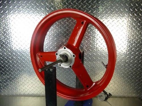 02-05 Triumph Daytona 600 650 Front Wheel Rim STRAIGHT