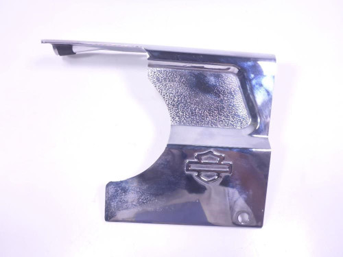04 Harley Road Glide FLTRI Right Side Chrome Cover Guard Engine Motor