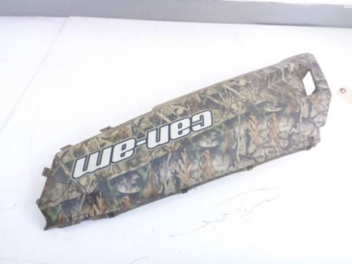 13 Can Am Commander Rear Left Side Truck Bed Cargo Box Plastic Cover Camo Fender