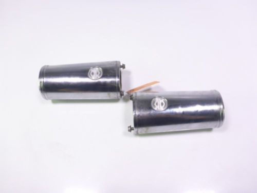 06 Harley Davidson Street Glide FLHXI Fork Tube Covers with HD Logo