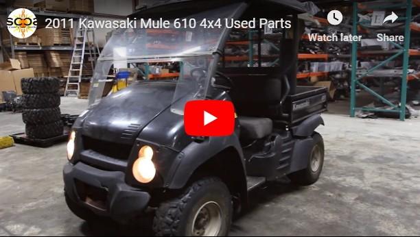 Kawasaki Mule 610 4x4