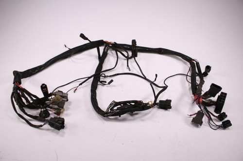 94 Harley Davidson Road King Flhr Main Wiring Wire Harness Loom Cut Wires
