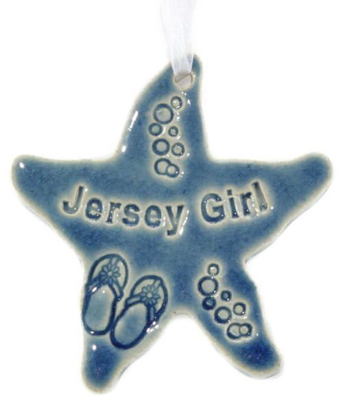 Jersey Girl Starfish in blue