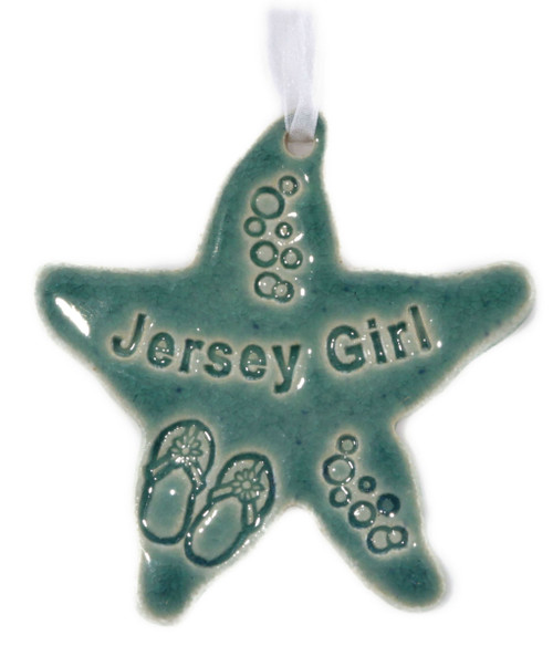 Jersey Girl Starfish in green