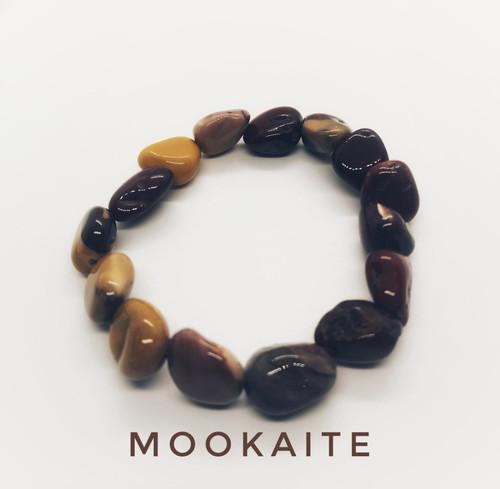 Mookaite Tumblestone Bracelet