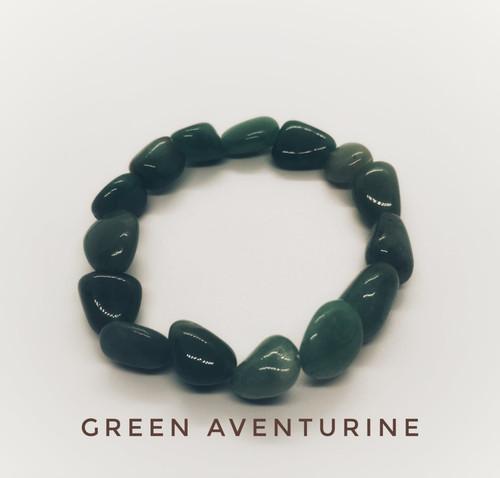 Green Aventurine Tumblestone Bracelet
