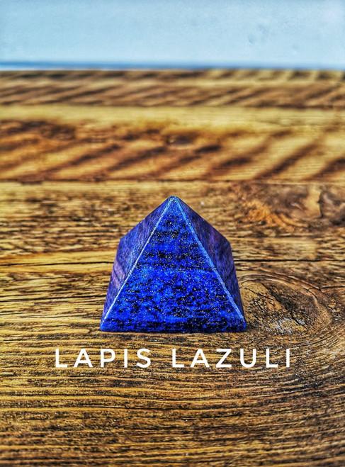 LAPIS LAZULI CRYSTAL PYRAMID