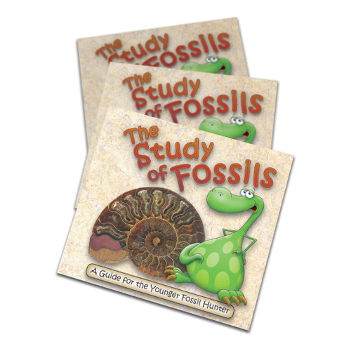 The Study Of Fossils Booklet – A Guide For The Young Fossil Hunter