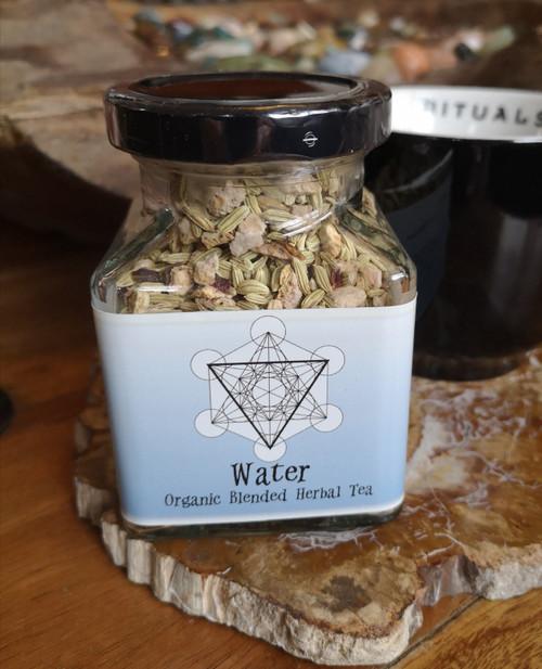 Water Organic Herbal Tea Blend