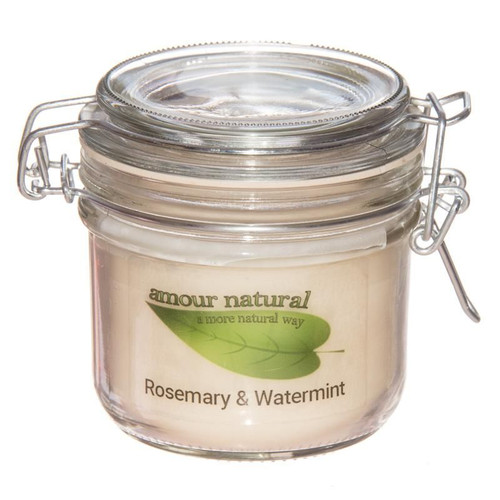 Rosemary and Watermint Candle, 200ml Clip Jar