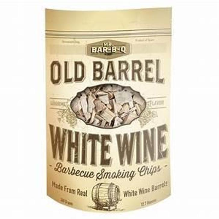 Mr. Bar-B-Q Old Barrel White Wine Barbecue Smoking Chips