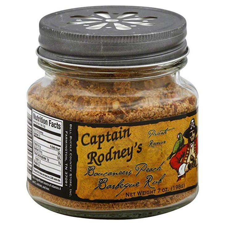 Captain Rodney's Boucaneers Peach Barbeque Rub